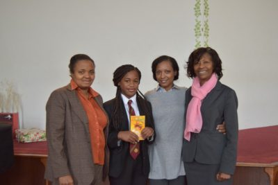 Mazvita, Bible Project Competition winner